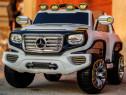 Masina electrica Mercedes G-Force 2x30W 12V cu Scaun Tapitat