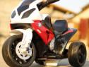 Mini motocicletă electrică pentru copil 1-3 ani, bmw s1000rr