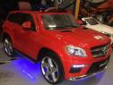 Masinuta electrica mercedes gl63 4x4 top version cu mp4 #ros