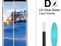 Samsung S8 S8+ Folie Sticla Securizata 6D Curbata Clara Adez