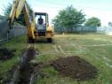 Execut lucrări cu  Buldoexcavator și miniexcavator
