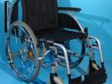 Breezy - scaun cu rotile pliabil din aluminiu / sezut 43 cm