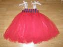 Costum carnaval serbare rochie dans 4-5-6 ani