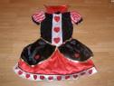 Costum carnaval serbare inima rosie regina inimilor 12 13 14