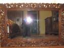 Rama oglinda sculptata manual in stil Florentin