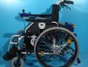 Scaun cu rotile dizabili, handicap, batrani electric pliabil