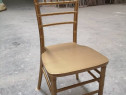 Scaune Chiavari (scaun Tiffany) din lemn pentru restaurant