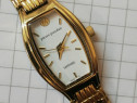 Ceas Pierre Jourdan 24K GOLD Plated Saphire Crystal SWISS