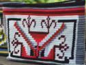 Gentuta handmade decorata cu motiv popular din Transilvania