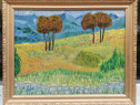 Tablou Peisaj de Vara amintiri după Van Gogh ulei pe panza