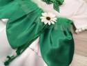 Costum/Rochie serbare copii floare primavara margareta