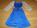 Costum de carnaval serbare rochie printesa 10-11-12 ani
