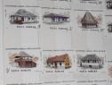 """Serie timbre """"Semicentenarul Muzeului Satului"""" - 1986"""