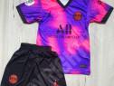 Compleu echipament fotbal copii psg  mbappe model 2021-2022