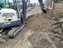 Excavări, săpături demolări cu buldoexcavator, miniexcavator