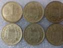 Monezi Spania-Marea Britanie-S.U.A. 1890-2008