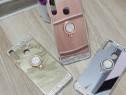 Huse silicon oglinda cu inel Samsung A20e ; A20s ; A10s