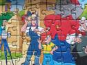 Puzzle mini cu 54 de piese