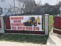 Prestari servicii cu buldoexcavator