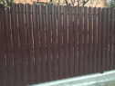 Sipca metalica pentru gard quart 10cm 0,55mm varf rotund