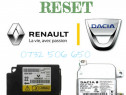 Resetare Crash data AIRBAG Dacia RENAULT