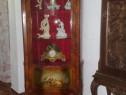 Vitrina mobila antica vintage baroc Ludovic,lemn