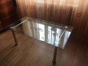 Masa sticla temperata living/sufragerie NOUA