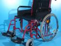 Carucior handicap cu rotile B+B / latime sezut 56 cm