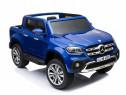 Masinuta electrica mercedes x-class 2x45w standard #albastru