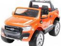 Masinuta electrica ford ranger 4x4 cu roti moi 4x45w #orange