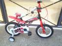 "Red Flash Spike bicicleta copii 14"" (4-7 ani)"