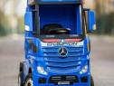 Camion electric pentru copii Mercedes ACTROS 4x4 #Blue