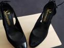 Pantofi Stiletto marca veronese piele naturală