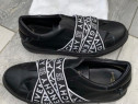 Givenchy Black Slip On Shoes