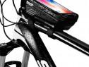 Geanta borseta 6'2 inch cadru bicicleta waterproof antisoc W