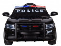 Masinuta electrica police jc666 12v premium #negru