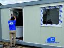 Container modular tip birou cu grup sanitar pe comanda