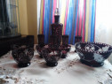 Set vase negru rubin