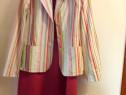 Costum rosu dama 38