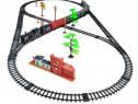Circuit Trenulet Electric, Fum Realist, Sunete, Lumini