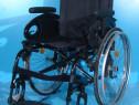 Carucior handicap cu rotile din aluminiu Sopur / sezut 46 cm