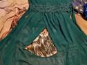 Rochie lunga culoare verde