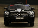 Masinuta electrica de politie Mercedes SL500 90W PREMIUM #Ne