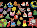 Set 100 figurine ipsos pentru Craciun