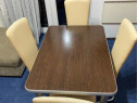 Masa cu 4 scaune pentru Bucătărie sau living