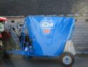 Remorca tehnologica compacta - mixer furajer 5 mc