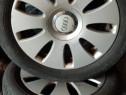 Jante jenti Audi A3,A4,A6 originale cu cauciucuri 205.55.16