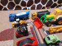 Lot de 8 jucarii copii ,masini,excavator,tir