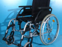 Scaun carucior handicap cu rotile Breezy / sezut 44 cm