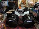 Set de tobe acustice DDrum Journeyman Double Down Kit -BK